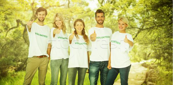 圖像 組 肖像 快樂 志願者 商業照片 © wavebreak_media