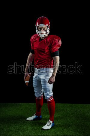 American football player throwing football Stock photo © wavebreak_media