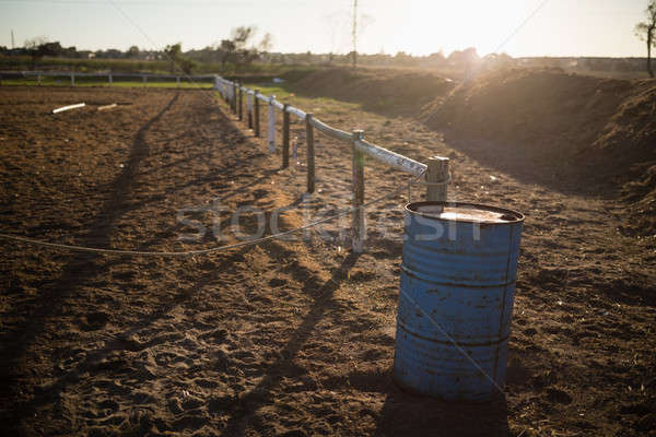 Scenic view of equestrian center Stock photo © wavebreak_media