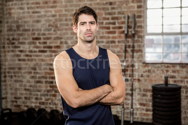 Serious man with arms crossed Stock photo © wavebreak_media