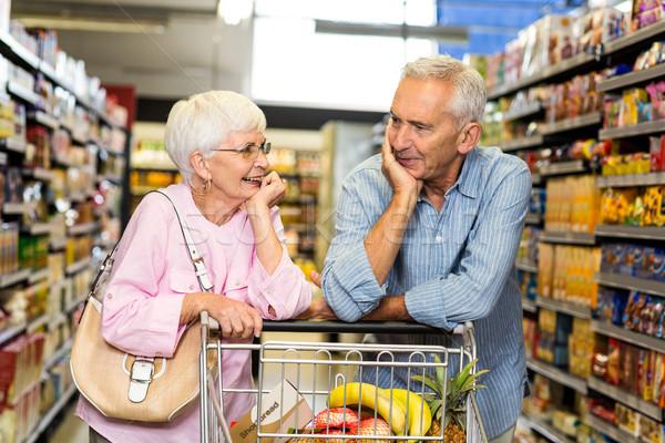 Senior couple shopping together  Stock photo © wavebreak_media
