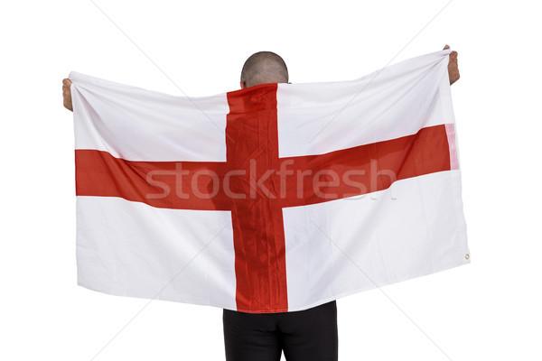 Athlète Angleterre pavillon homme jeu Photo stock © wavebreak_media