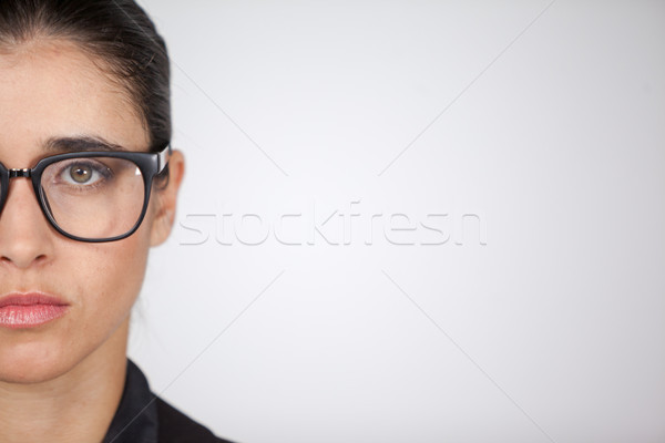 Woman wearing spectacles Stock photo © wavebreak_media