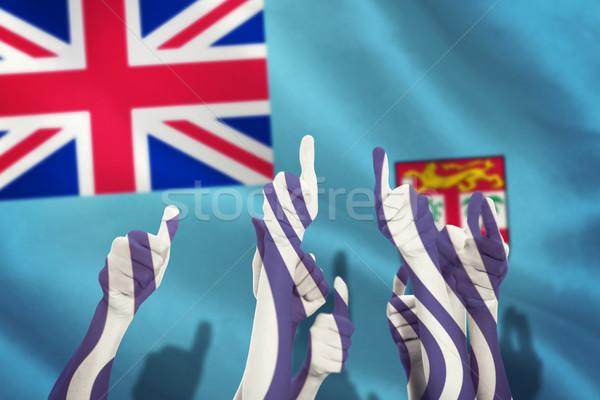 изображение руки вверх поднятыми руками вверх Сток-фото © wavebreak_media