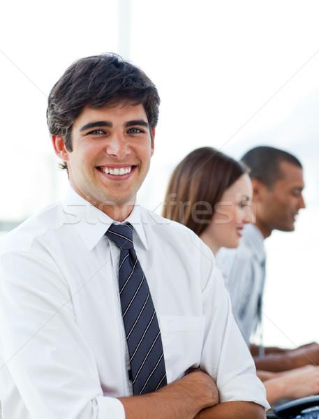 Portrait élégante affaires bureau équipe affaires Photo stock © wavebreak_media