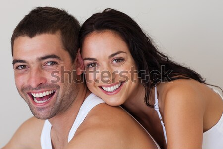 Cute couple relaxing in each others Company Stock photo © wavebreak_media