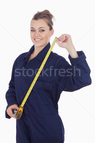 Kobiet mechanik portret młodych stałego Zdjęcia stock © wavebreak_media