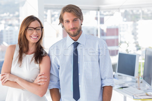 Design team standing in office Stock photo © wavebreak_media