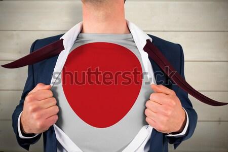 Gericht bodybuilder omhoog naar Stockfoto © wavebreak_media