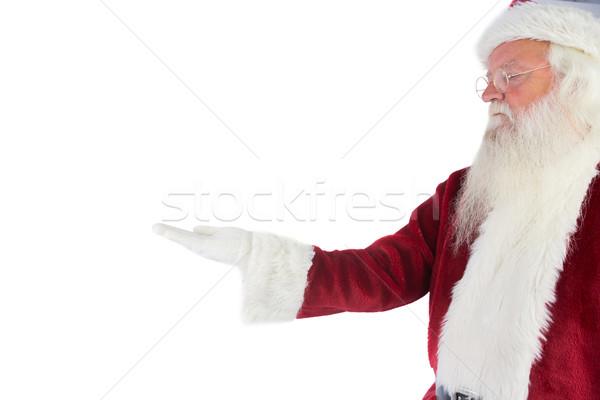 Iets witte man christmas Stockfoto © wavebreak_media