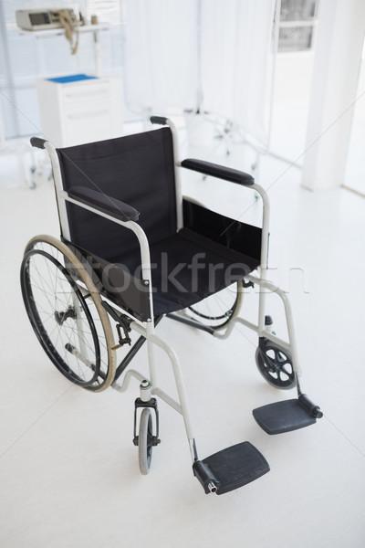 Zwarte rolstoel ziekenhuis afbeelding Stockfoto © wavebreak_media