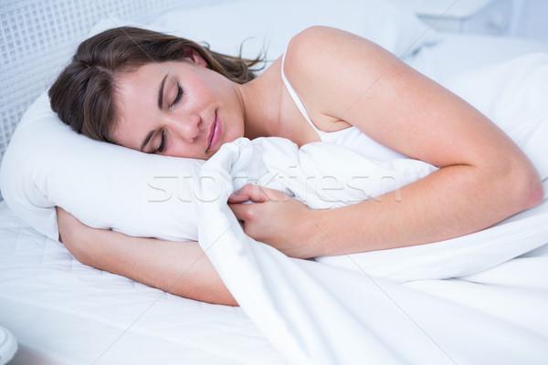 Pacifica donna dormire home camera da letto femminile Foto d'archivio © wavebreak_media
