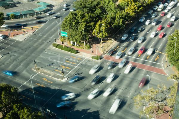 Cars moving on road in city Stock photo © wavebreak_media