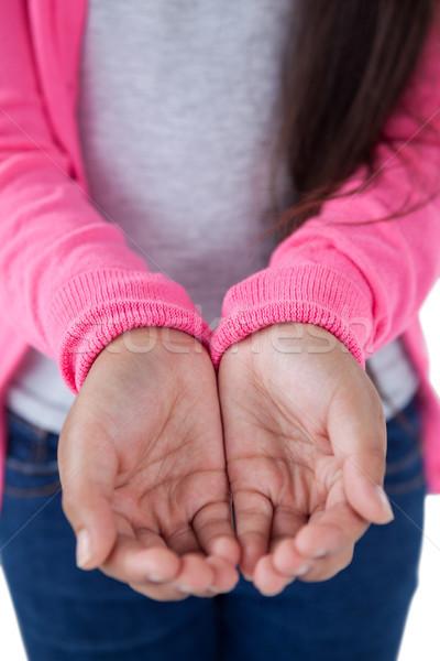 少女 ホールド 目に見えない オブジェクト 子 ストックフォト © wavebreak_media