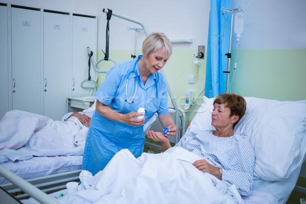 медсестры пациент больницу женщину медицинской Сток-фото © wavebreak_media