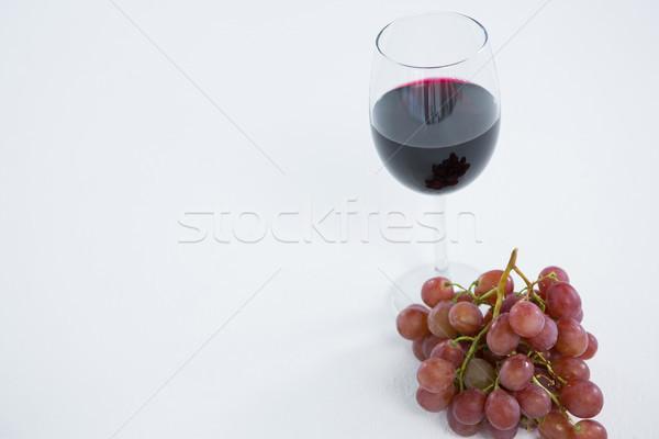 красный виноград стекла Сток-фото © wavebreak_media