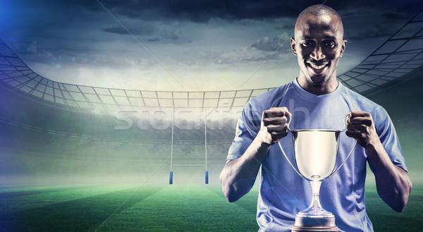 画像 肖像 幸せ スポーツマン ストックフォト © wavebreak_media