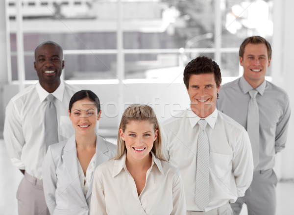 Business Group of Five people looking at camera  Stock photo © wavebreak_media
