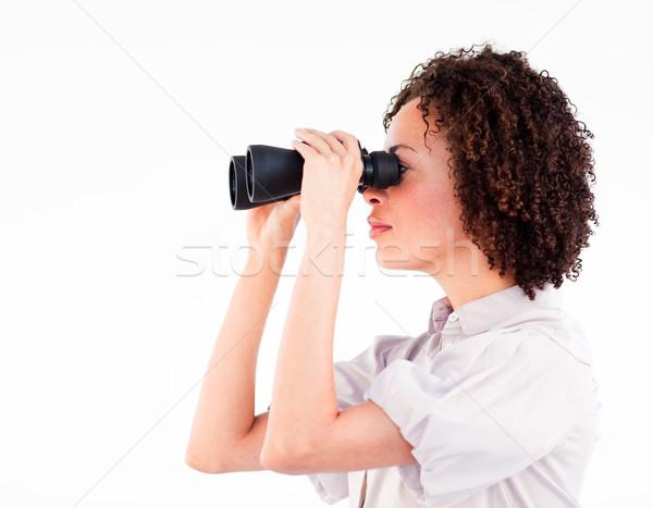 Portrait séduisant femme d'affaires jumelles jeunes femme Photo stock © wavebreak_media
