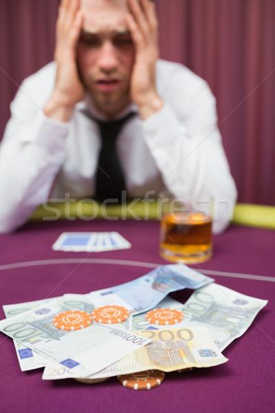 человека наличных покер игры казино Сток-фото © wavebreak_media