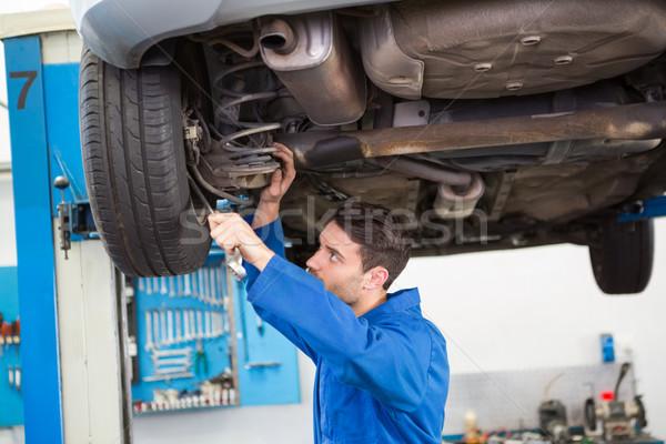 механиком автомобилей гаража службе Сток-фото © wavebreak_media