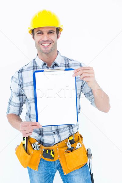 плотник портрет белый человека Сток-фото © wavebreak_media