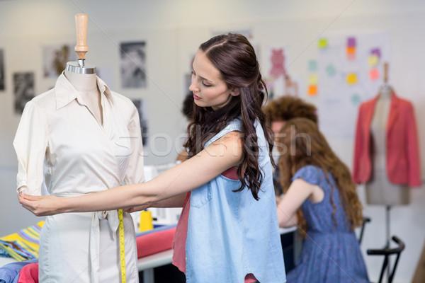 Női divat designer portré üzlet nő Stock fotó © wavebreak_media