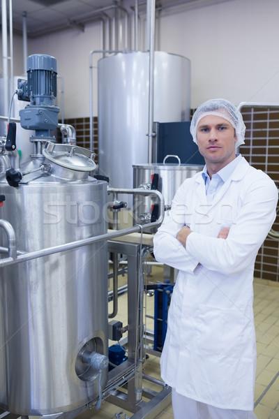 биолог завода человека промышленности мужчины Сток-фото © wavebreak_media