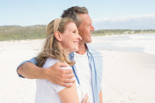 Happy couple spending time together Stock photo © wavebreak_media