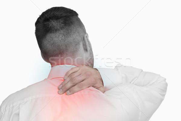 Composite numérique colonne vertébrale homme blanche corps Photo stock © wavebreak_media