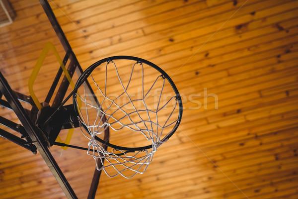 Low angle view of basket ball hoop Stock photo © wavebreak_media