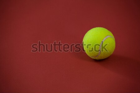 View tre tennis maroon Foto d'archivio © wavebreak_media