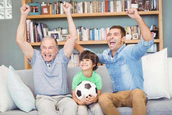幸せな家族 ホーム 幸せ 家族 愛 ストックフォト © wavebreak_media