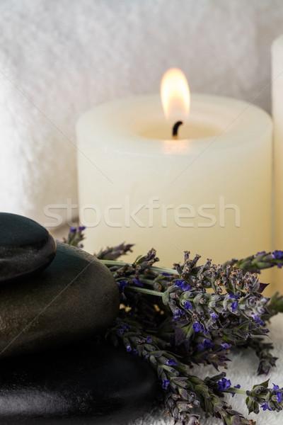 Tray of beauty therapy items Stock photo © wavebreak_media