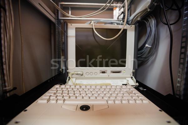 Bilgisayar Sunucu oda dolap ofis izlemek Stok fotoğraf © wavebreak_media