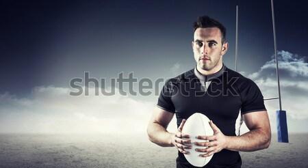 Imagem difícil rugby jogador Foto stock © wavebreak_media