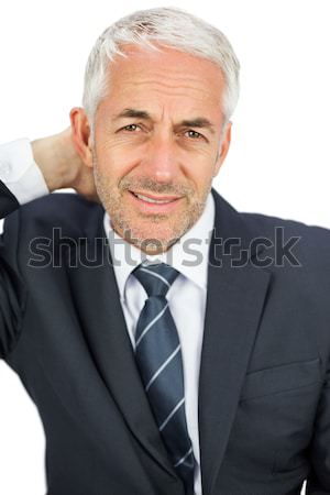 Self-assured senior businessman standing Stock photo © wavebreak_media