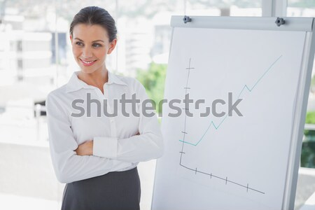 Self-assured asian businesswoman with folded arms  Stock photo © wavebreak_media