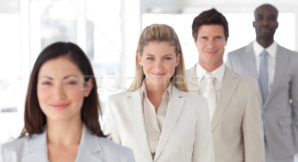 Squadra di affari spirito positività uomo Foto d'archivio © wavebreak_media