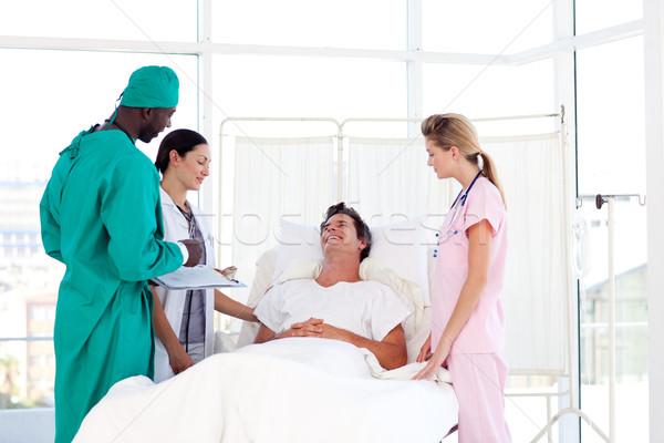 Danışma cerrah hasta tıbbi kadın ofis Stok fotoğraf © wavebreak_media