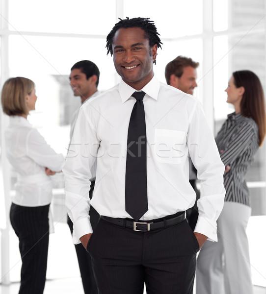Masculino gerente equipe escritório negócio empresário Foto stock © wavebreak_media