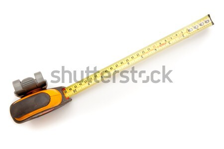 Geel industriële meetlint tool Stockfoto © wavebreak_media