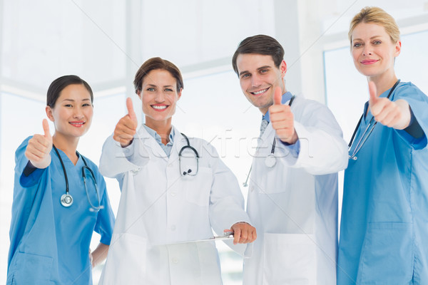 Médicos hospital grupo retrato Foto stock © wavebreak_media