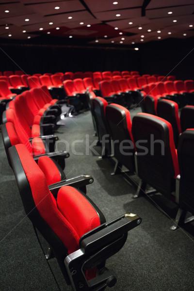 Vacío rojo película silla Foto stock © wavebreak_media