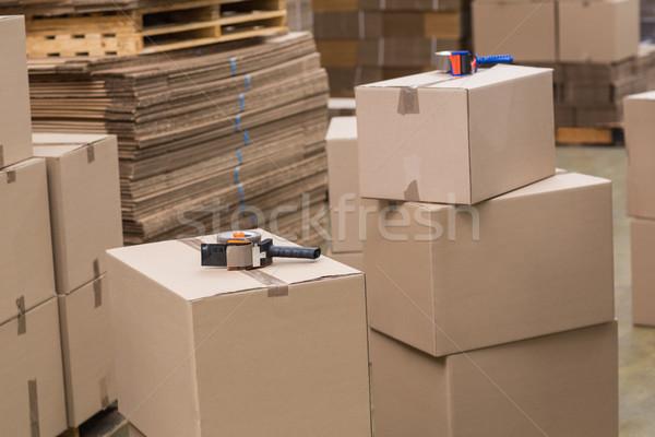 Preparation of goods for dispatch Stock photo © wavebreak_media