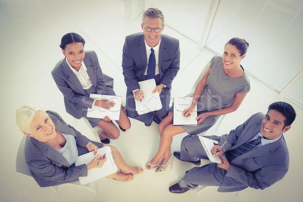 деловые люди заседание служба бизнеса человека Сток-фото © wavebreak_media