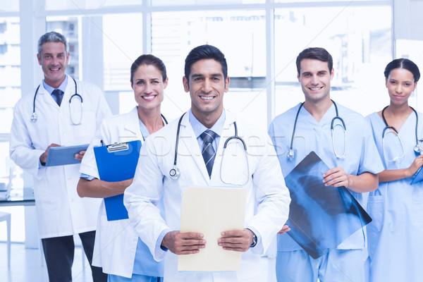 Photo stock: Portrait · médecins · médicaux · bureau · femme
