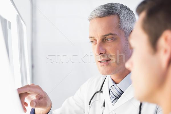 Medico raggi paziente medici ufficio Foto d'archivio © wavebreak_media