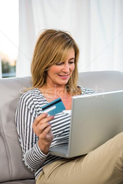 Woman paying on internet Stock photo © wavebreak_media