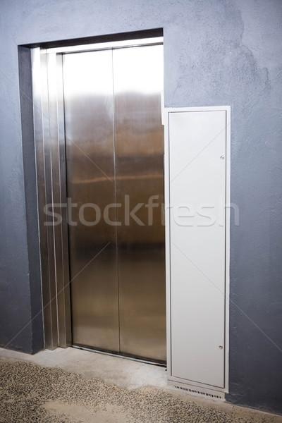 現代 エレベーター 閉店 ドア オフィス 技術 ストックフォト © wavebreak_media